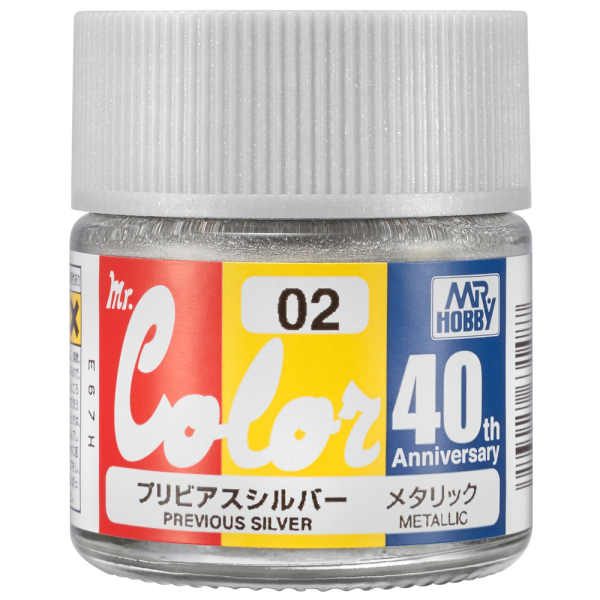 AVC-02 Mr.Color 40th Anniversary Previous Silver