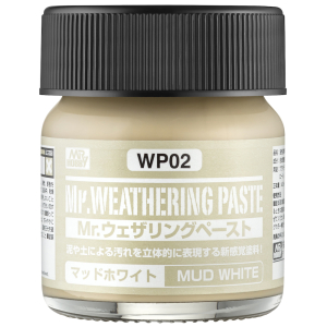WP-02 Weathering Paste Mud White (40ml)