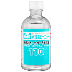 T-110 Mr.Aqueous Hobby Color Thinner 110