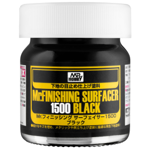 SF-288 Mr.Finishing Surfacer 1500 Black